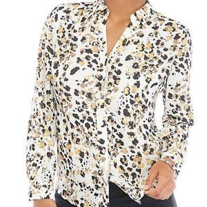 NWT PXS The Limited 3/4 length Sleeve Blouse